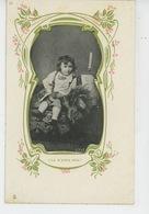 """ENFANTS - Jolie Carte Fantaisie Enfant """"V'la M'sieur Déjà """"- Carte Pub Pour CHICORÉE DANIEL VOELCKER COUMES à BAYON (54) - Enfants"""