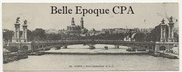 """75 - PARIS 08 - Pont Alexandre - #34 +++ C. L. C. / ELD / E. Le Deley ++++ Carte Postale Dite """" Mignonnette """" / 1904 - Arrondissement: 08"""
