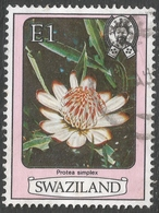 Swaziland. 1980 Flowers. E1 Used. SG 352A - Swaziland (1968-...)