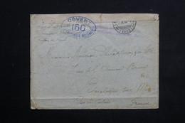 FRANCE - Enveloppe D' Interné De Suisse ( Drimond Dessus ) Pour Boulogne Sur Mer En 1916 - L 22453 - Marcophilie (Lettres)