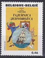 """BE 2007 - TINTIN - N° 3646 XX - Couverture De """"Le Secret De La Licorne"""" En Polonais - Bandes Dessinées"""