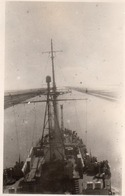 Photo Anonyme Vintage Snapshot Bateau Boat Le Jules Verne Canal De Suez - Bateaux