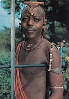 Tanzania Masai Warrior 1972 - Tanzania