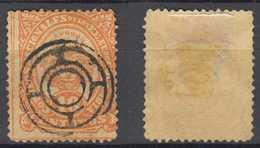 Colombia Mi# 81 Used Nice Postmark 10c Eagle 1883 - Colombia