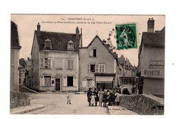 CPA 28 - Chartres - Carrefour Du Pont St Hilaire, Entrée De La Rue Porte Morard , Animation, Enfants - Chartres