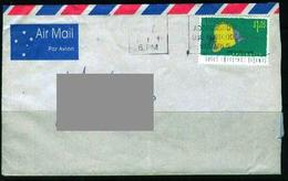 X284- Postal Used Cover. Post From Australia To Qatar. Fish. - Fishes