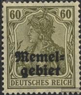 Memelgebiet 16x Usato 1920 Germania-Stampa - Memelgebiet