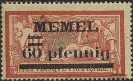 Memelgebiet 24y MNH 1920 Francobolli - Memelgebiet