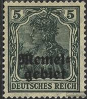 Memelgebiet 1b MNH 1920 Germania-Stampa - Memelgebiet