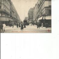 75-PARIS RUE REAUMUR AU SQUARE DU TEMPLE - Arrondissement: 03