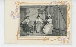 SPECTACLE - ARTISTES 1900 - M. MARQUET - Mlle MILO D'ARCYL - Mlle SOREL - Artistas