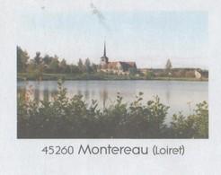 MONTEREAU LOIRET 45 - VUE DU VILLAGE, FLAMME ORLEANS 2008, PAP ENTIER POSTAL, VOIR LES SCANNERS - Vacances & Tourisme
