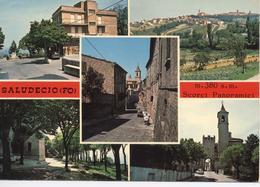 SALUDECIO RIMINI Cartolina Formato Grande - Rimini