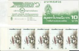 Thailande Mushroom  Champignons Booklet - Champignons