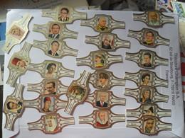 King Roi Nepal Jordan Kuwait Laos Cambodia England - Bagues De Cigares