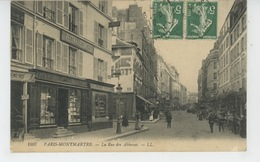 PARIS - XVIIIème Arrondissement - PARIS MONTMARTRE - La Rue Des Abbesses - Distretto: 18