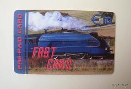 BELGIUM Fast Calling Card - Fast Card - Pre Paid Card (€10) Used. - Belgium