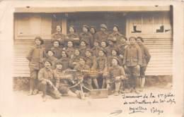 88 - Vosges / 10034 -  Deyvillers - Belle Carte Photo - Militaria - Mitarilleuse - Altri Comuni