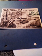 CP LECLERC En Vue D'ALENCON AFFR TIMBRE LECLERC TB - 1950-59