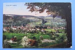 KRIENS,Kt.Luzern,1926,9x14cm Gelaufen,Knick Unten Rechts - LU Luzern