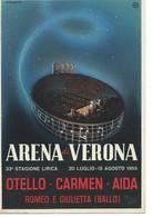 Cpsm-arena Di Verona-33e Stagione Lirica-1955 - Altri