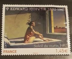 France 2012 , Obliteration , Sileil Du Matin,Edward Hoppet, Painting - France