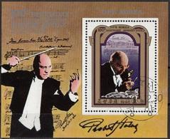 DPR Korea 1980 Sc. 2012  Robert Stolz Compositore Direttore D ' Orchestra Sheet Perf. CTO - Corea Del Nord