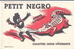 BU 1614 -/  BUVARD   PETIT NEGRO  CULOTTES-SOUS-VETEMENTS - Textile & Vestimentaire
