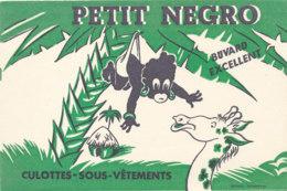 BU 1615 -/  BUVARD   PETIT NEGRO  CULOTTES-SOUS-VETEMENTS - Textile & Vestimentaire