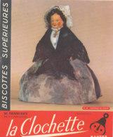 BU 1621-/  BUVARD   BISCOTTES  LA CLOCHETTE NANTES    FONTENAY LE COMTE - Biscottes