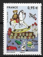 France 2015 N° 4953 Neuf Europa  Jouets Anciens à La Faciale - France