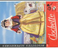 BU 1622-/  BUVARD   BISCOTTES  LA CLOCHETTE NANTES   BOURG DE BATZ - Biscottes