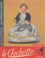 BU 1624-/  BUVARD   BISCOTTES  LA CLOCHETTE NANTES   BAUD - Biscottes
