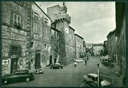 CARTOLINA - CV1738 SANTA FIORA (Grosseto GR) Piazza Garibaldi, FG, Viaggiata 1966, Ottime Condizioni - Grosseto