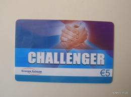 BELGIUM Yesr 2010 - Challenger - Gnanam Telecom  - Fast Card - Pre Paid Card (€5) Used. - Belgium