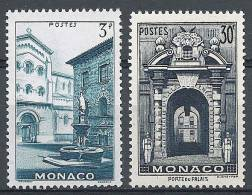 """Monaco YT 369 à 370 """" Vues De La Principauté """" 1951 Neuf** - Unused Stamps"""