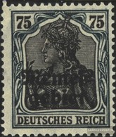 Memelgebiet 8a Con Fold 1920 Germania-Stampa - Klaïpeda
