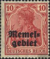 Memelgebiet 2 Con Fold 1920 Germania-Stampa - Klaïpeda
