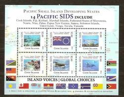 Cook Islands 2014 Yvertn° Bloc 243  *** MNH  Cote 27,50 Euro Faune Marine Poissons Vissen Fish - Cook