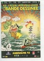 Angouleme 1995 22è Salon International Bande Dessinée - CP Afiche MANDRYKA - Bandes Dessinées