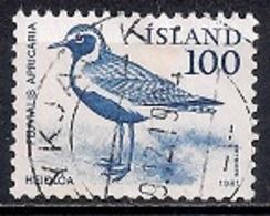 Iceland 1981 - Birds - Wren, Golden Plover And Raven - 1944-... Republik