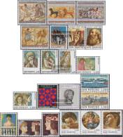 San Marino Unmounted Mint / Never Hinged Etruskische Painting 1975 Etruskische Painting, Christmas U. - San Marino
