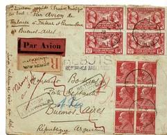 AVIATION , 1ERE LIAISON RAPIDE AMERIQUE DU SUD 1928 - Storia Postale