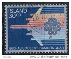 Iceland 1983 - Aviation - 1944-... Republik