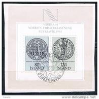 Iceland 1983 - Block - Stamp Exhibition NORDIA '84 - 1944-... Republik