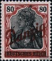 Gdansk 40 Favor Devaluation Fine Used / Cancelled 1920 Oblique Print - Danzig