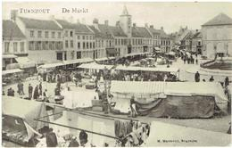TURNHOUT - De Markt - Uitg. M. Marcovici - Drukker Jacobs-Brosens - Turnhout