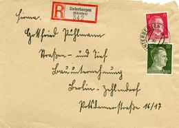 (Lo3038) Einschr. Brief DR St. Unterbergen Kärnten N. Berlin - Covers