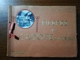 RicordoCADORE (Pittoresco) Racc Foto MAXI FOR. Montate Su Libricino Ricordo (Tre Croci, Misurina, Lavaredo, Sappada) - Luoghi