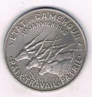 50 FRANCS 1960 KAMEROEN /1253/ - Cameroun